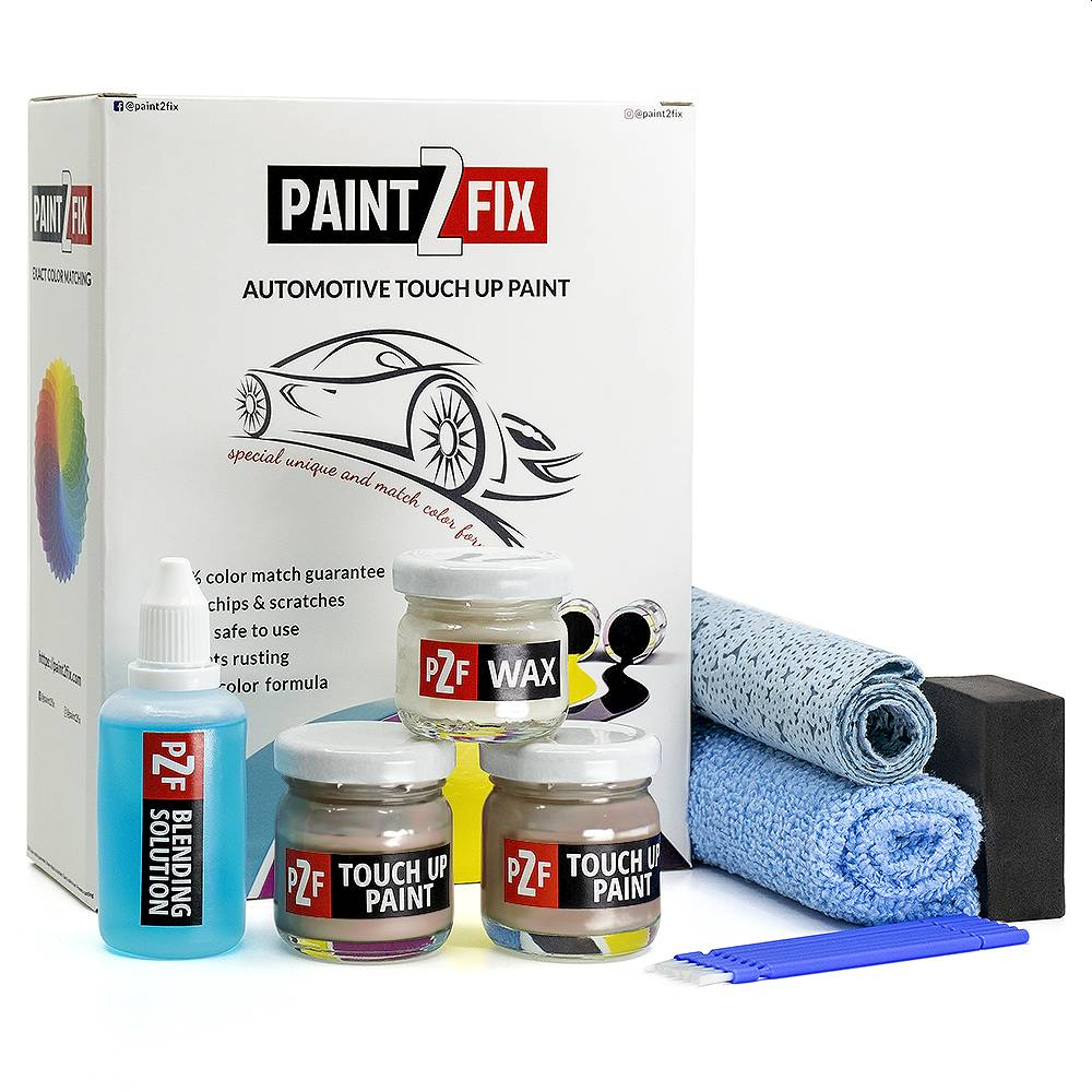 Volvo Platina Beige 411 Touch Up Paint / Scratch Repair / Stone Chip Repair Kit