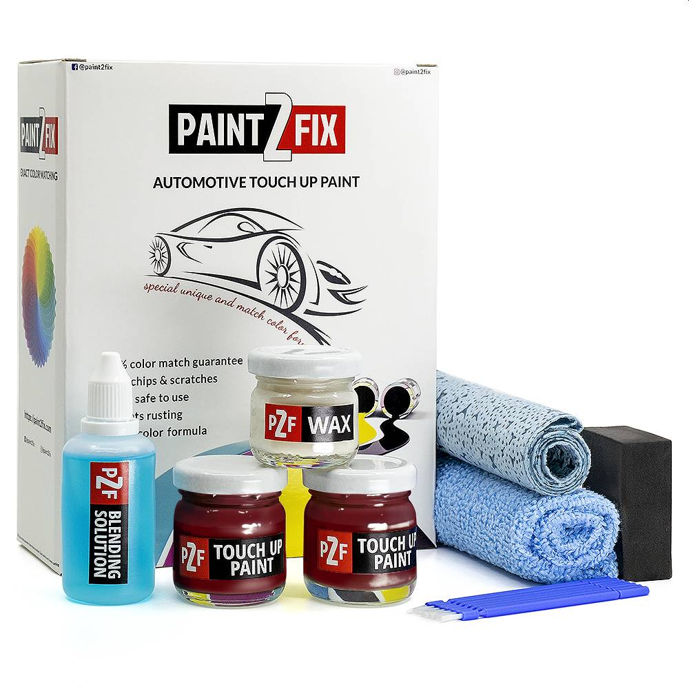 Volvo Regent Red 418 Touch Up Paint / Scratch Repair / Stone Chip Repair Kit