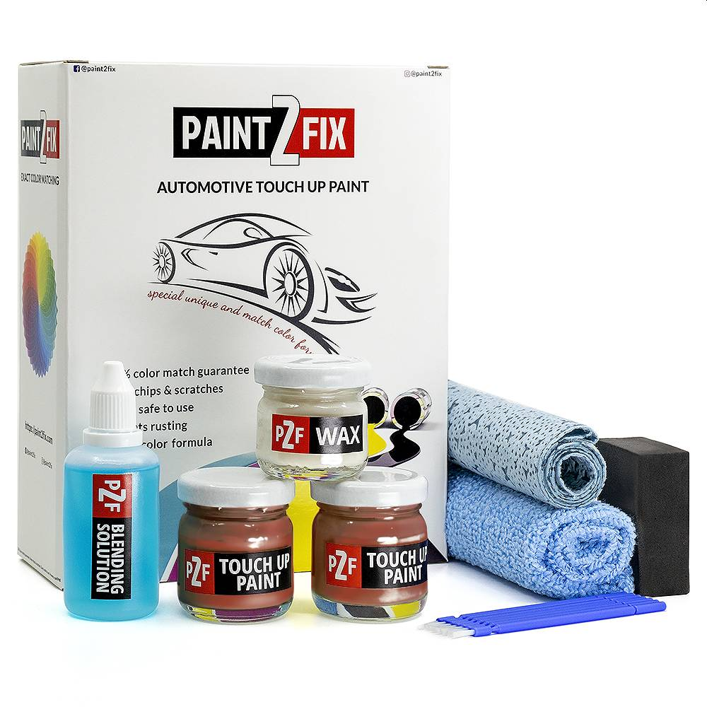 Volvo Orange Flame 701 Touch Up Paint / Scratch Repair / Stone Chip Repair Kit