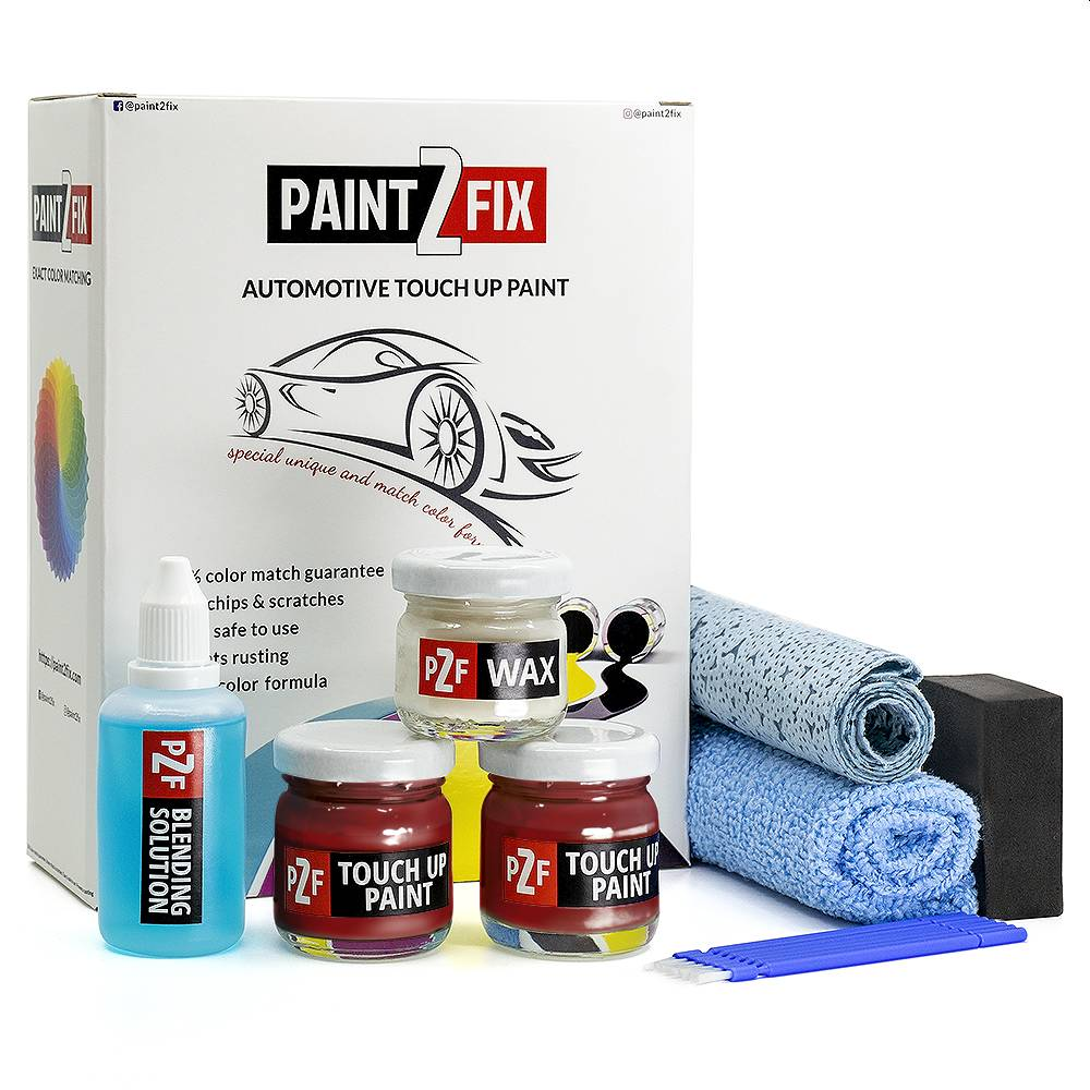 Volkswagen Red Alert LD3W Touch Up Paint / Scratch Repair / Stone Chip Repair Kit