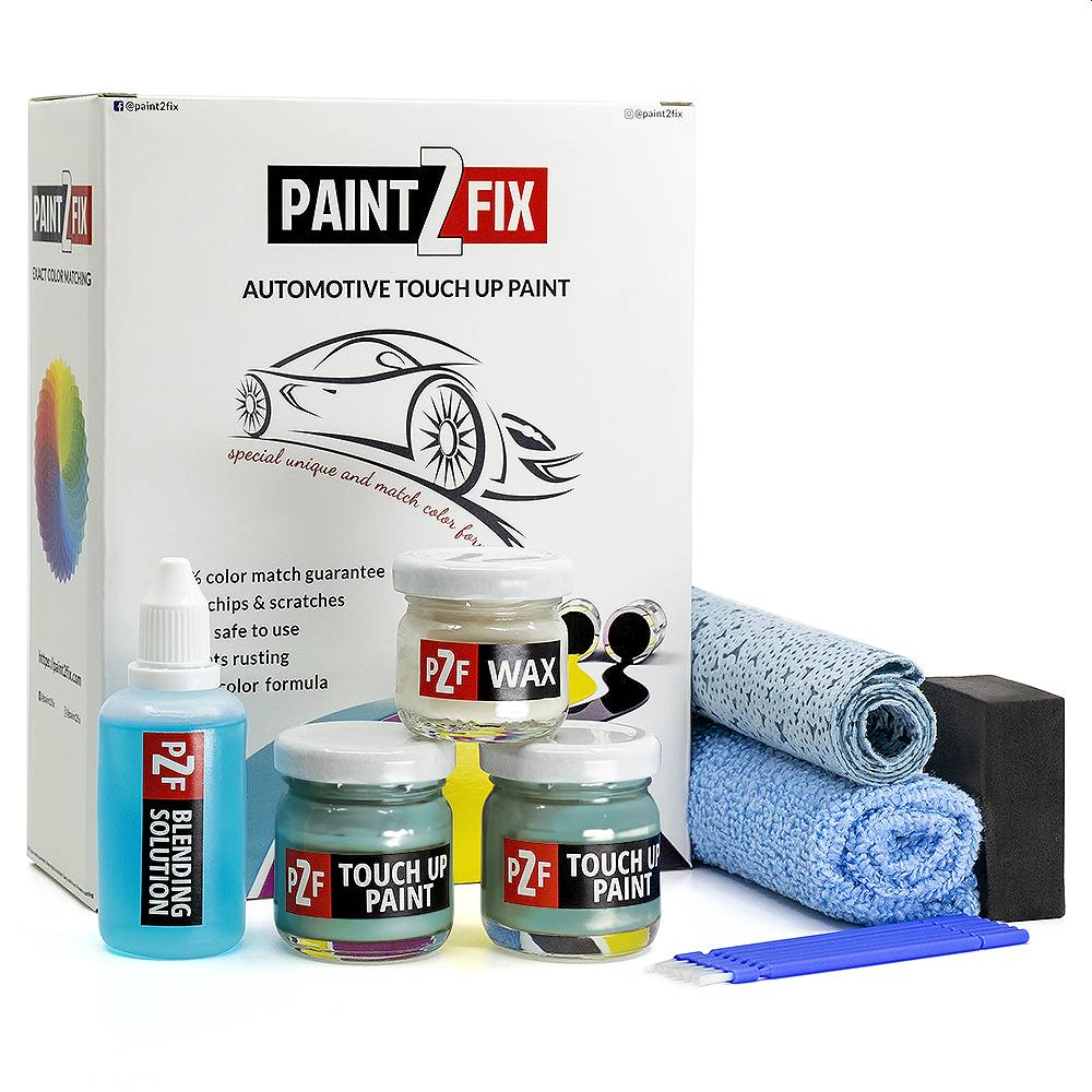 Volkswagen Sarantos Turquoise L69N Touch Up Paint / Scratch Repair / Stone Chip Repair Kit