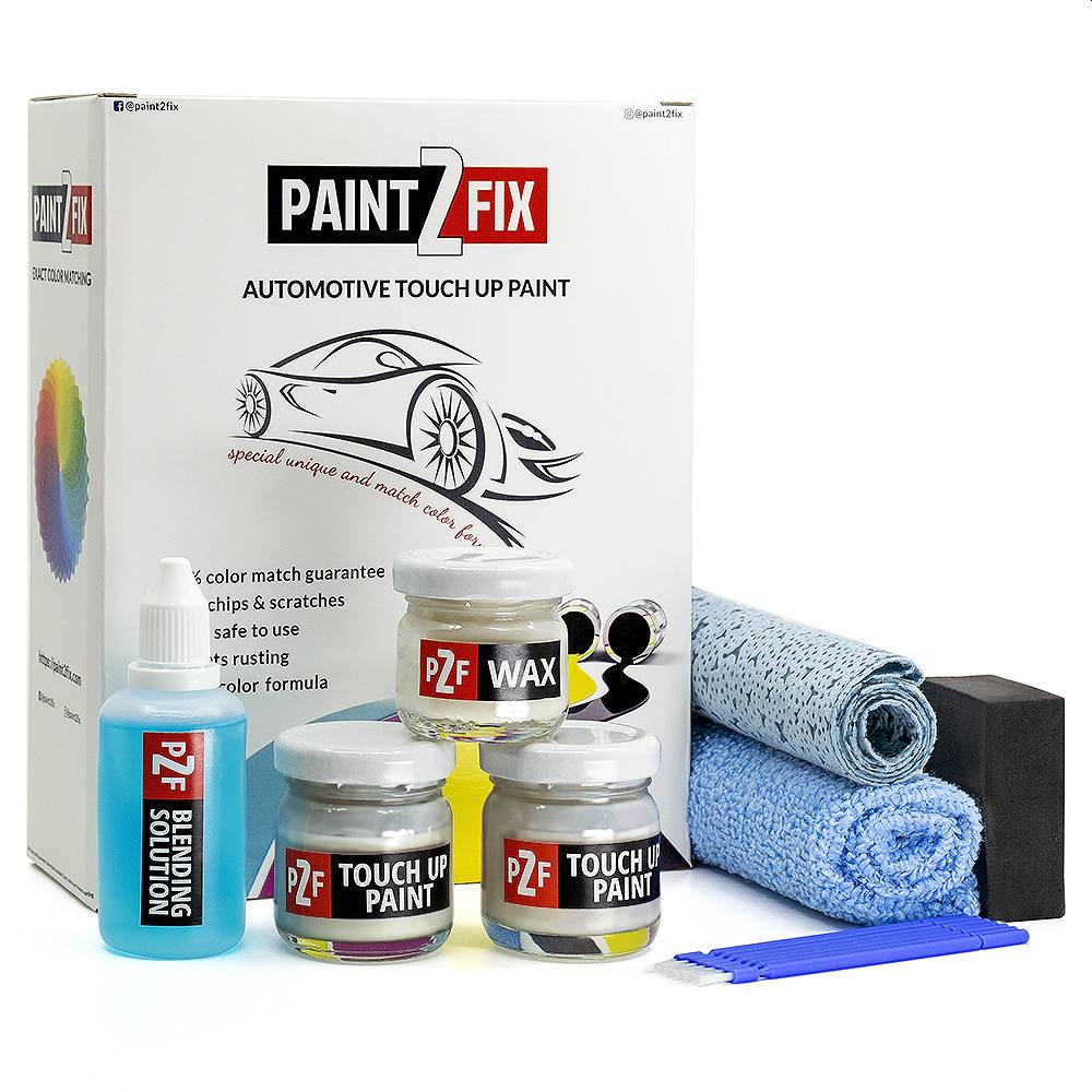 Volkswagen Brillant Silver L8Z8 Touch Up Paint / Scratch Repair / Stone Chip Repair Kit