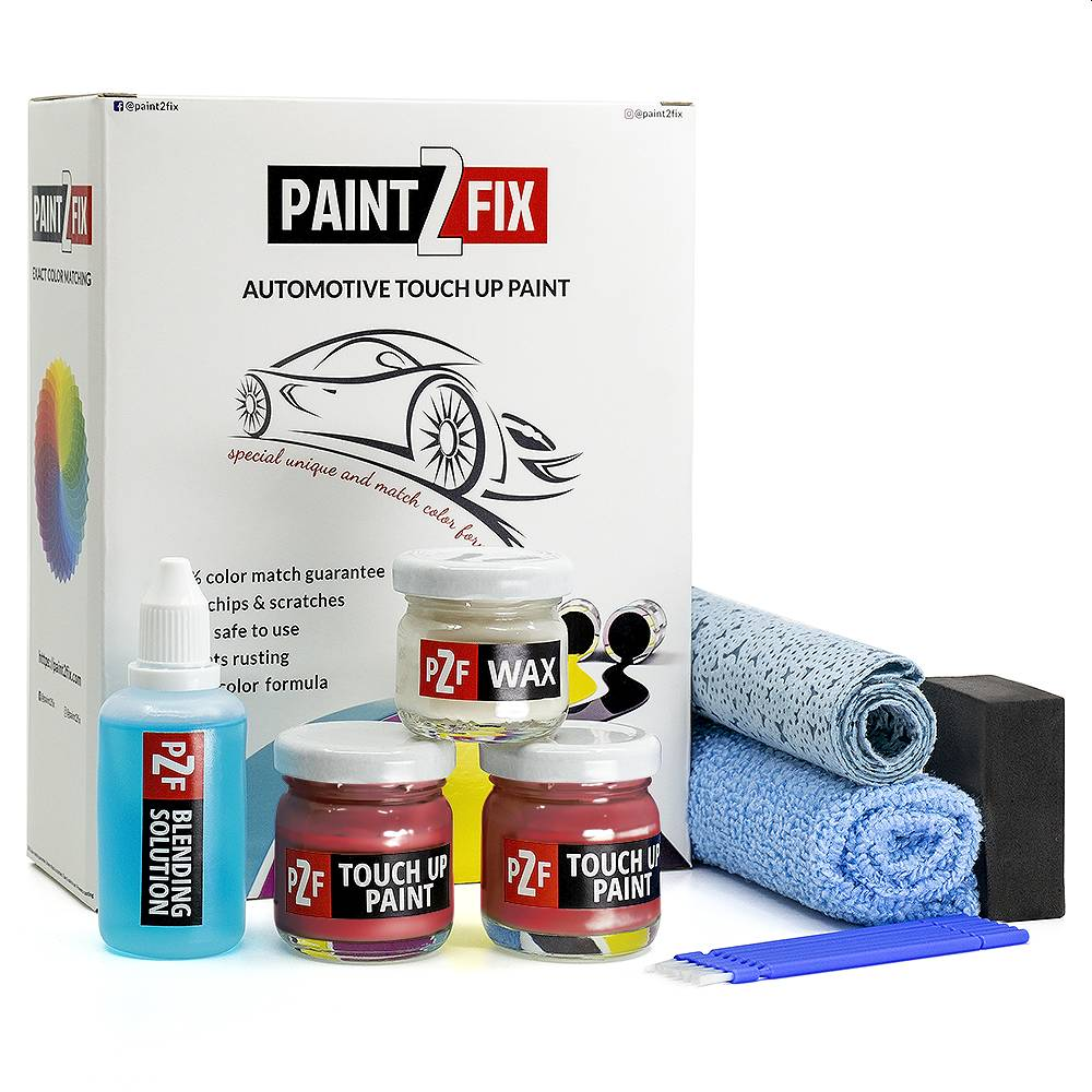 Volkswagen Raspberry Red LP3D Touch Up Paint / Scratch Repair / Stone Chip Repair Kit
