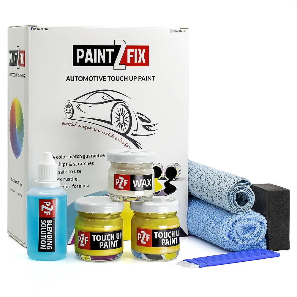 Volkswagen Yellow LR116 Touch Up Paint / Scratch Repair / Stone Chip Repair Kit