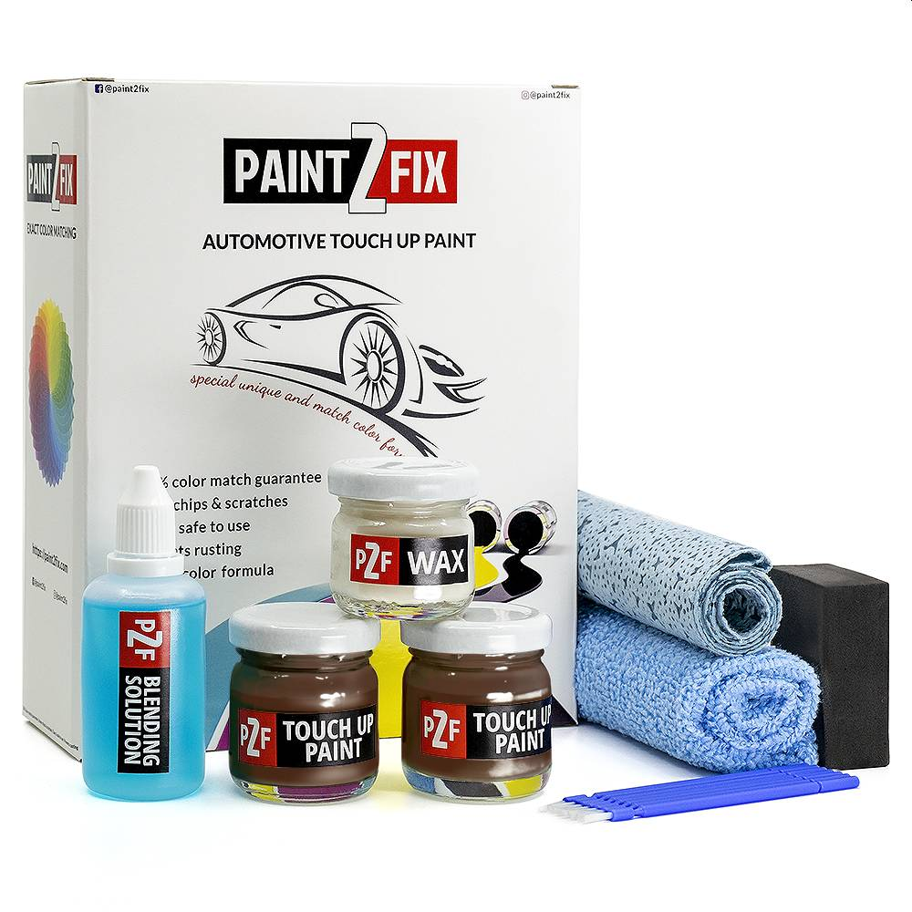 Volkswagen Nutshell Brown LD8X Touch Up Paint / Scratch Repair / Stone Chip Repair Kit
