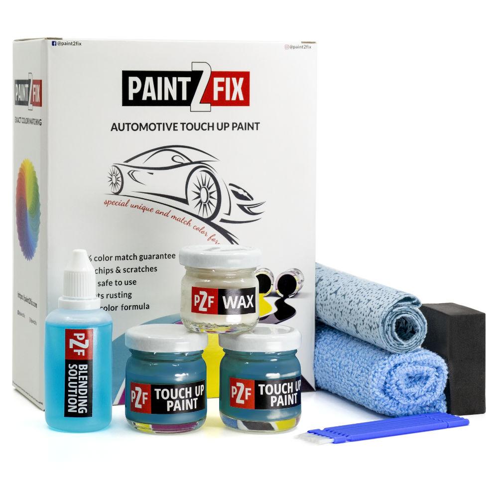 Fiat Verde Blue 230/B Kratz Reparatur & Auto Lackstift Reparatur Set