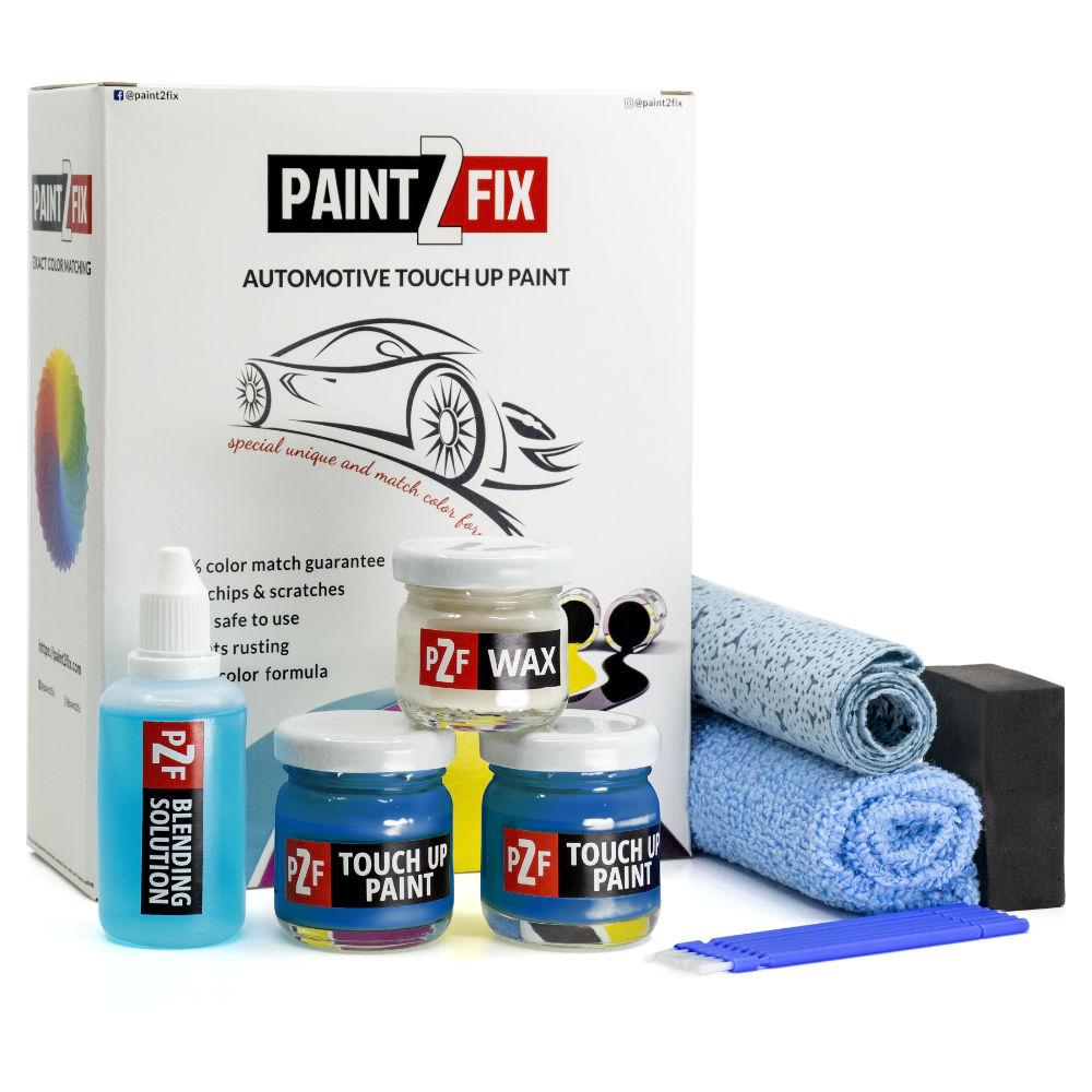 Nissan Vivid Blue RCA RCA Kratz Reparatur & Auto Lackstift Reparatur Set