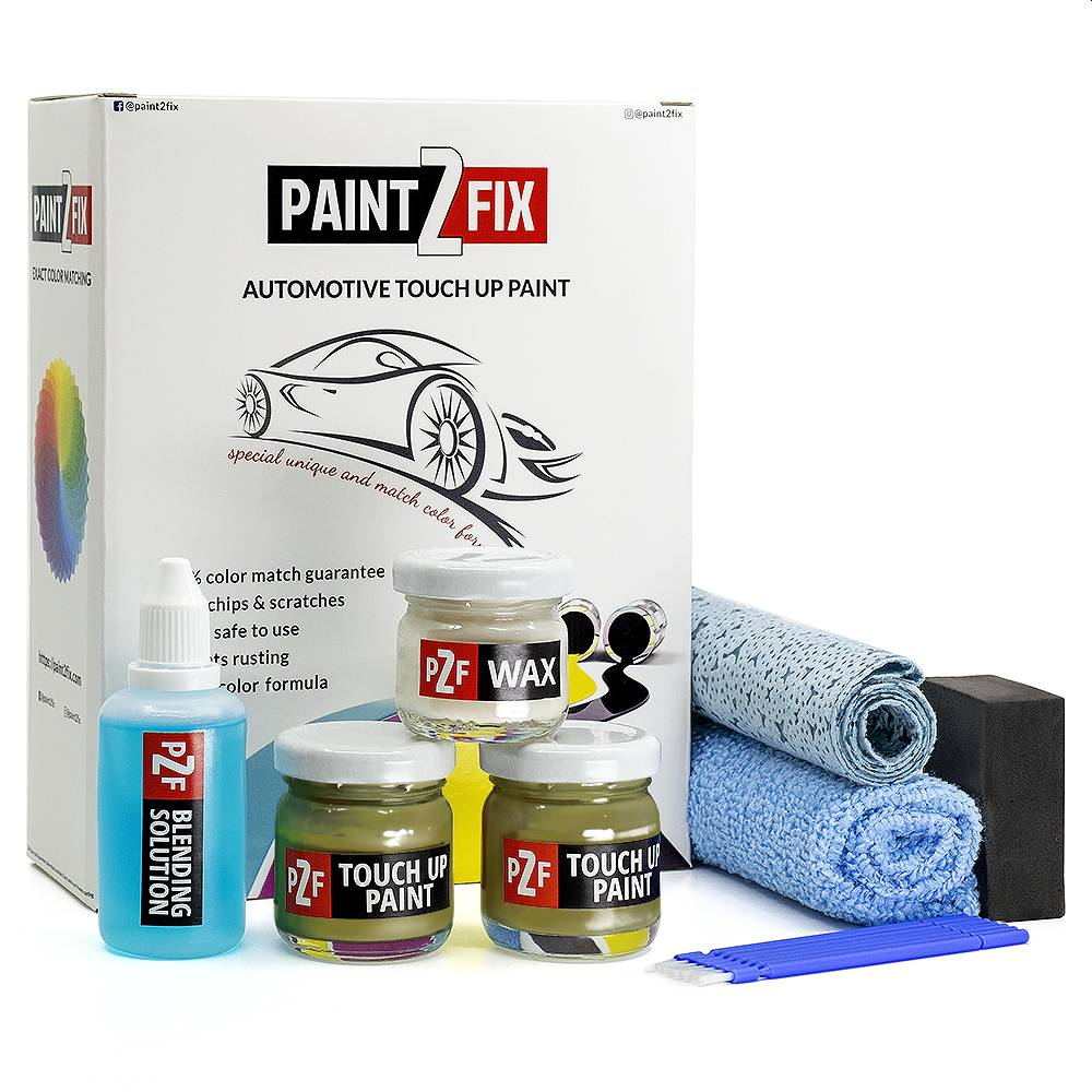 Seat Verde Vibrante S6X Pintura De Retoque / Kit De Reparación De Arañazos