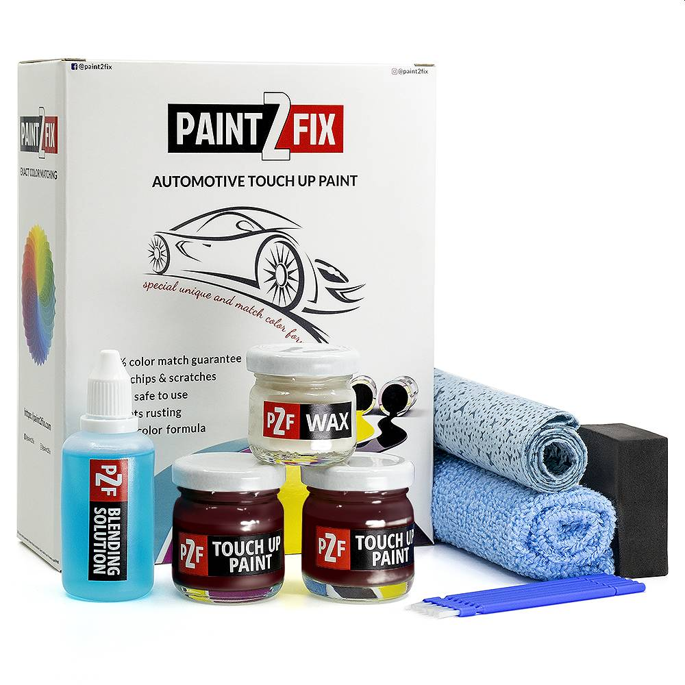 Seat Rojo Brunello F3X Pintura De Retoque / Kit De Reparación De Arañazos