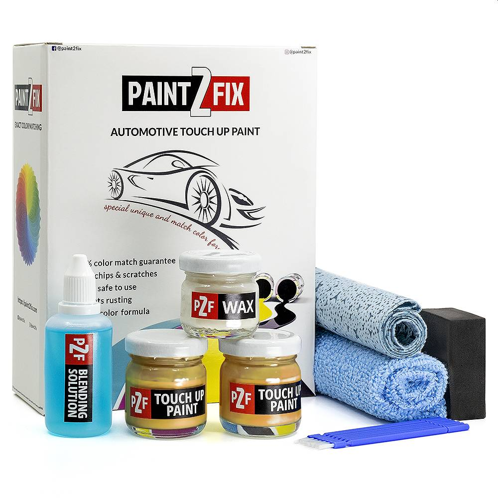 Skoda Pastellgelb Q4 / F1H / 6515 Pintura De Retoque / Kit De Reparación De Arañazos