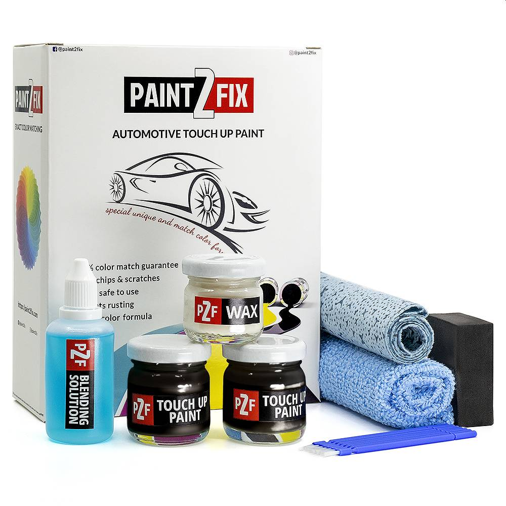 Mercedes Jade Black 9185 Retouche De Peinture / Kit De Réparation De Rayures