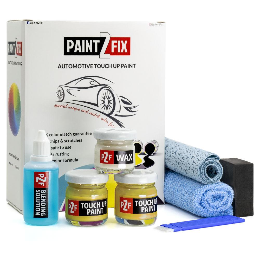 Jaguar Sorrento Yellow FCR FCR Retouche De Peinture / Kit De Réparation De Rayures