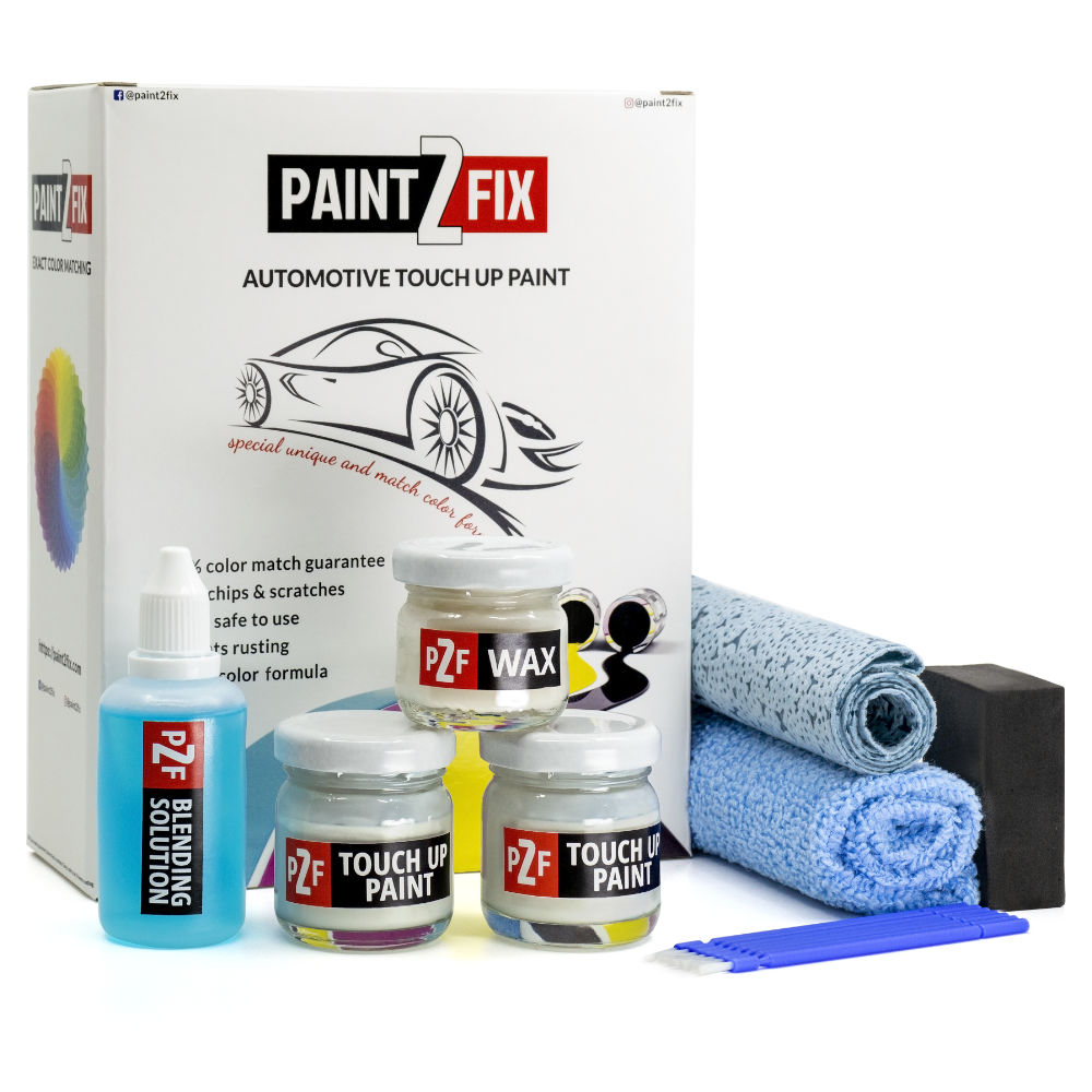 Land Rover Icy White NCX / 2487 Retouche De Peinture / Kit De Réparation De Rayures