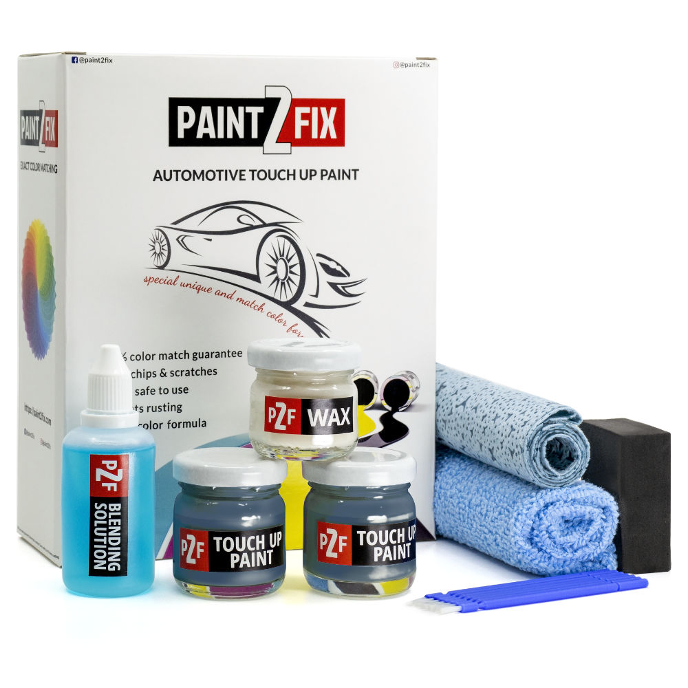 Mercedes Denim Blue 5667 / 667 Retouche De Peinture / Kit De Réparation De Rayures