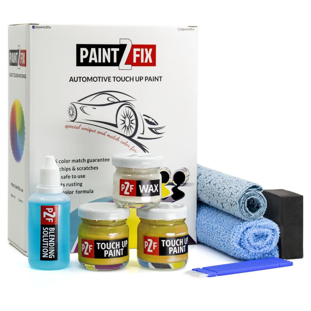 Peugeot Jaune Faro KLT Retouche De Peinture / Kit De Réparation De Rayures