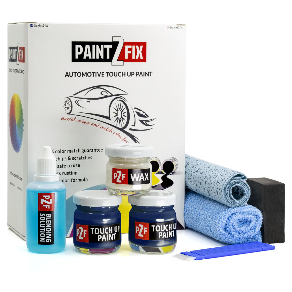 Porsche Gentian Blue / Enzianblau M5D Retouche De Peinture / Kit De Réparation De Rayures
