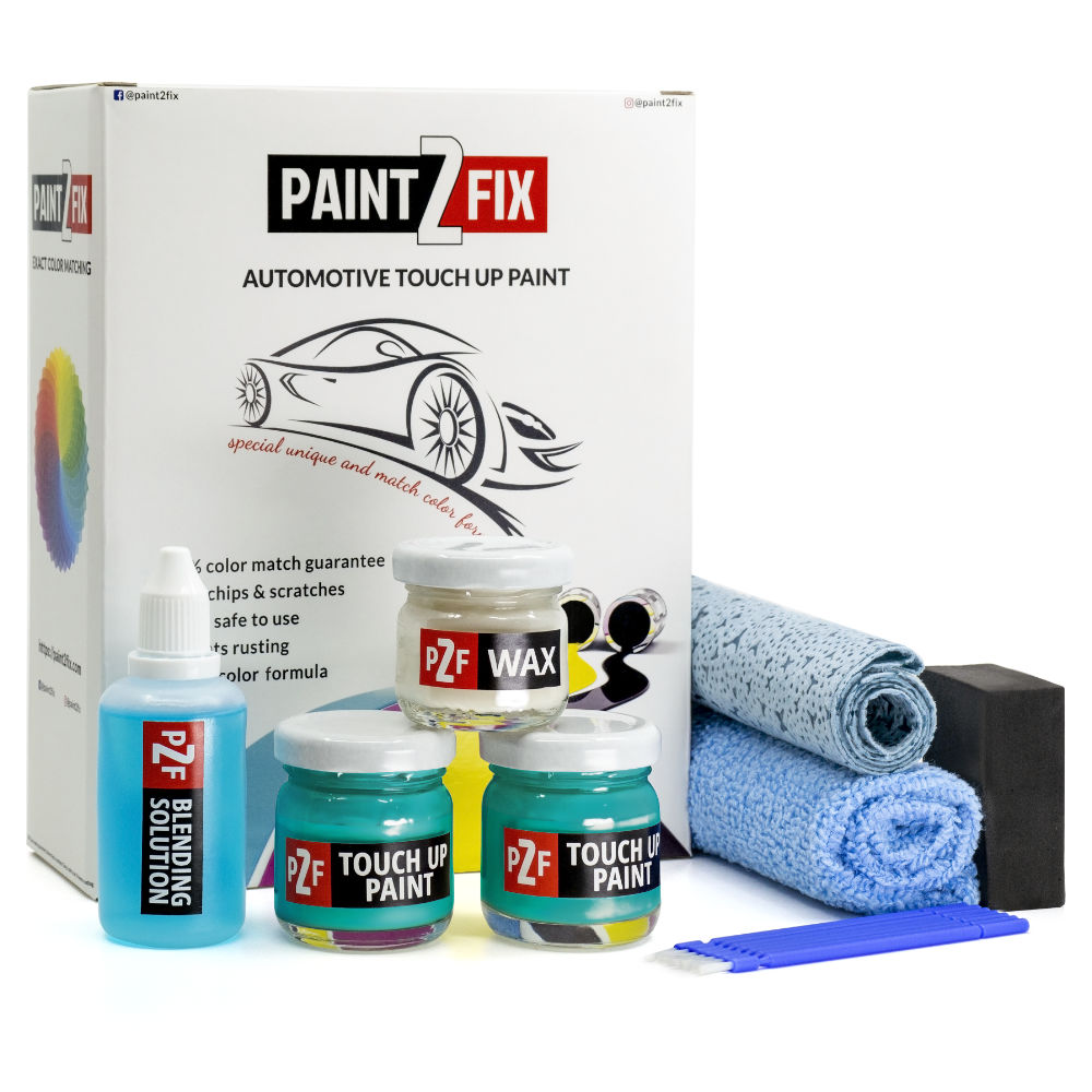 Volkswagen Makena Turquoise LC6L Retouche De Peinture / Kit De Réparation De Rayures