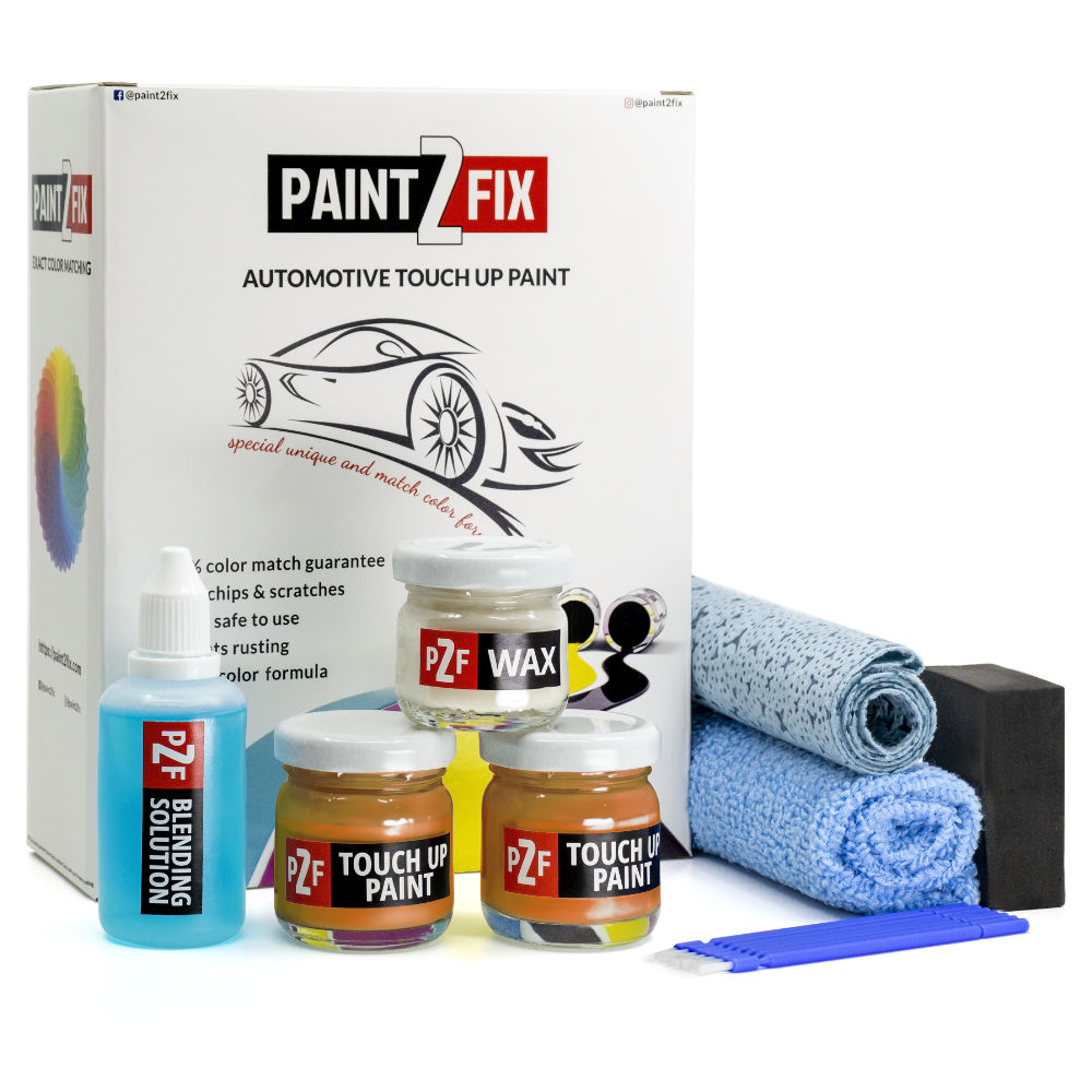 Ford Europe Orange Fury JESGWHA / NL Touch Up Paint / Scratch Repair / Stone Chip Repair Kit