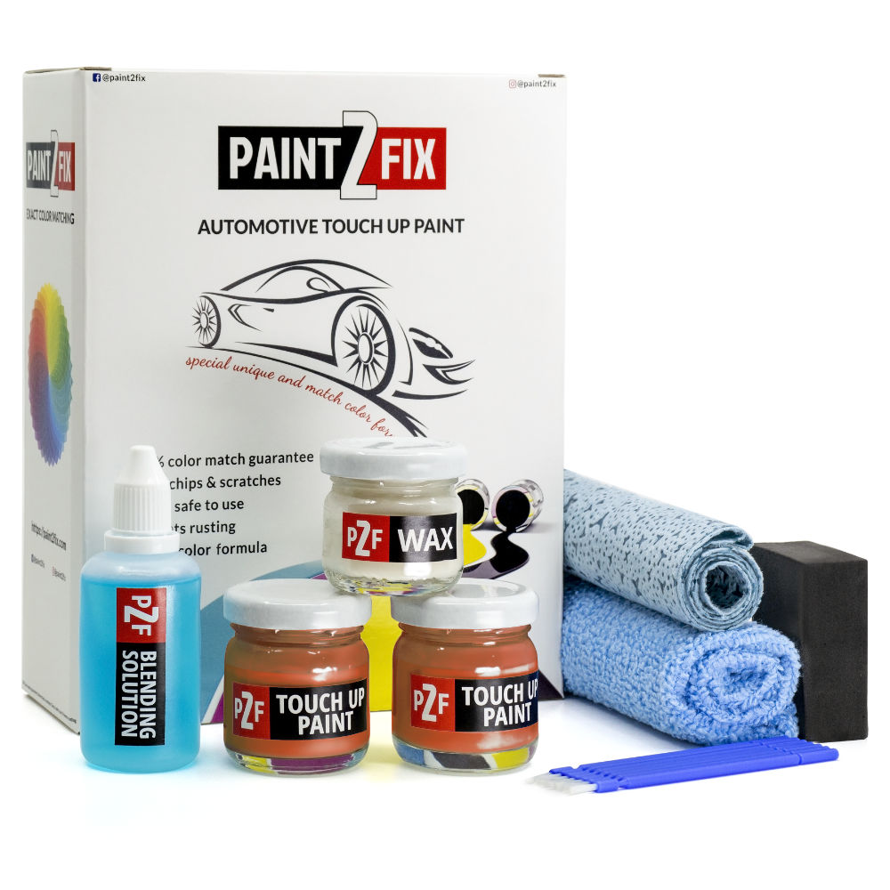 Honda Orange Fury YR585 Touch Up Paint / Scratch Repair / Stone Chip Repair Kit