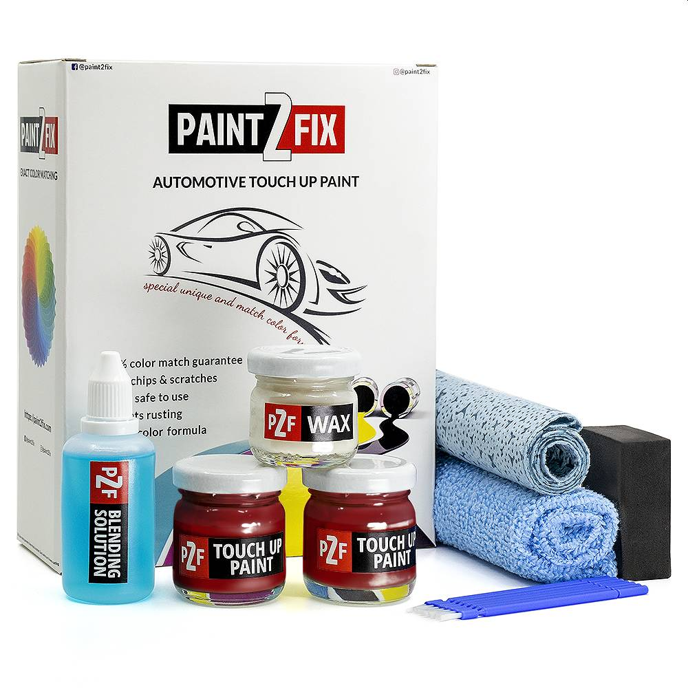 Hyundai Scarlet Red PR Touch Up Paint / Scratch Repair / Stone Chip Repair Kit