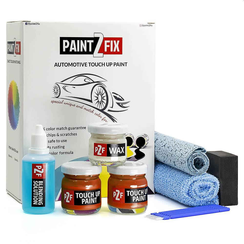 Hyundai Lava Orange YR2 Touch Up Paint / Scratch Repair / Stone Chip Repair Kit