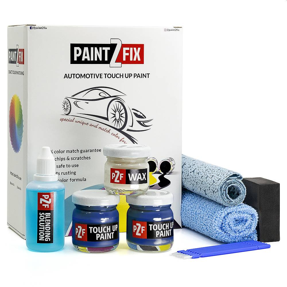 Lotus Magnetic Blue B100 Touch Up Paint / Scratch Repair / Stone Chip Repair Kit