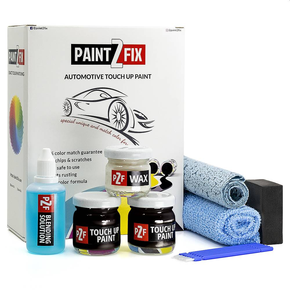 Porsche Black 041 Touch Up Paint / Scratch Repair / Stone Chip Repair Kit