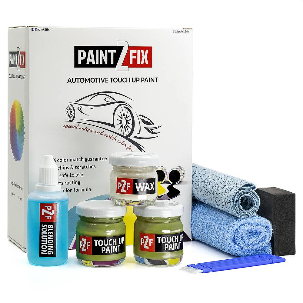 Volkswagen Viper Green LR6T Touch Up Paint / Scratch Repair / Stone Chip Repair Kit