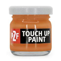 Ford Europe Orange Fury JESGWHA / NL Touch Up Paint | Orange Fury Scratch Repair | JESGWHA / NL Paint Repair Kit
