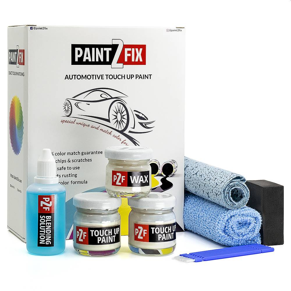 Genesis White Satin AT Touch Up Paint / Scratch Repair / Stone Chip Repair Kit