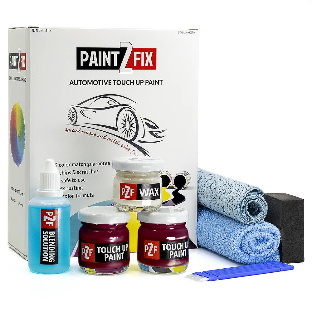 Honda Basque Red R548P Touch Up Paint / Scratch Repair / Stone Chip Repair Kit