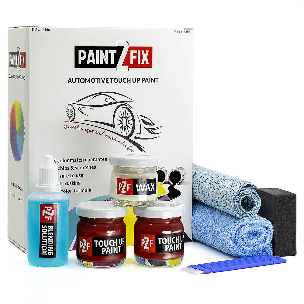 Jeep Red Rock Crystal PEM Touch Up Paint / Scratch Repair / Stone Chip Repair Kit