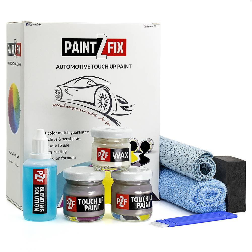 Mini Melting Silver C2K Touch Up Paint / Scratch Repair / Stone Chip Repair Kit