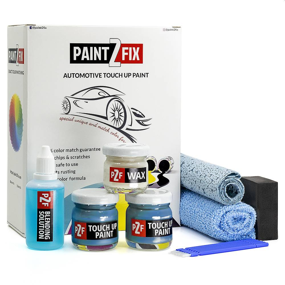 Peugeot French Blue EQQ Touch Up Paint / Scratch Repair / Stone Chip Repair Kit
