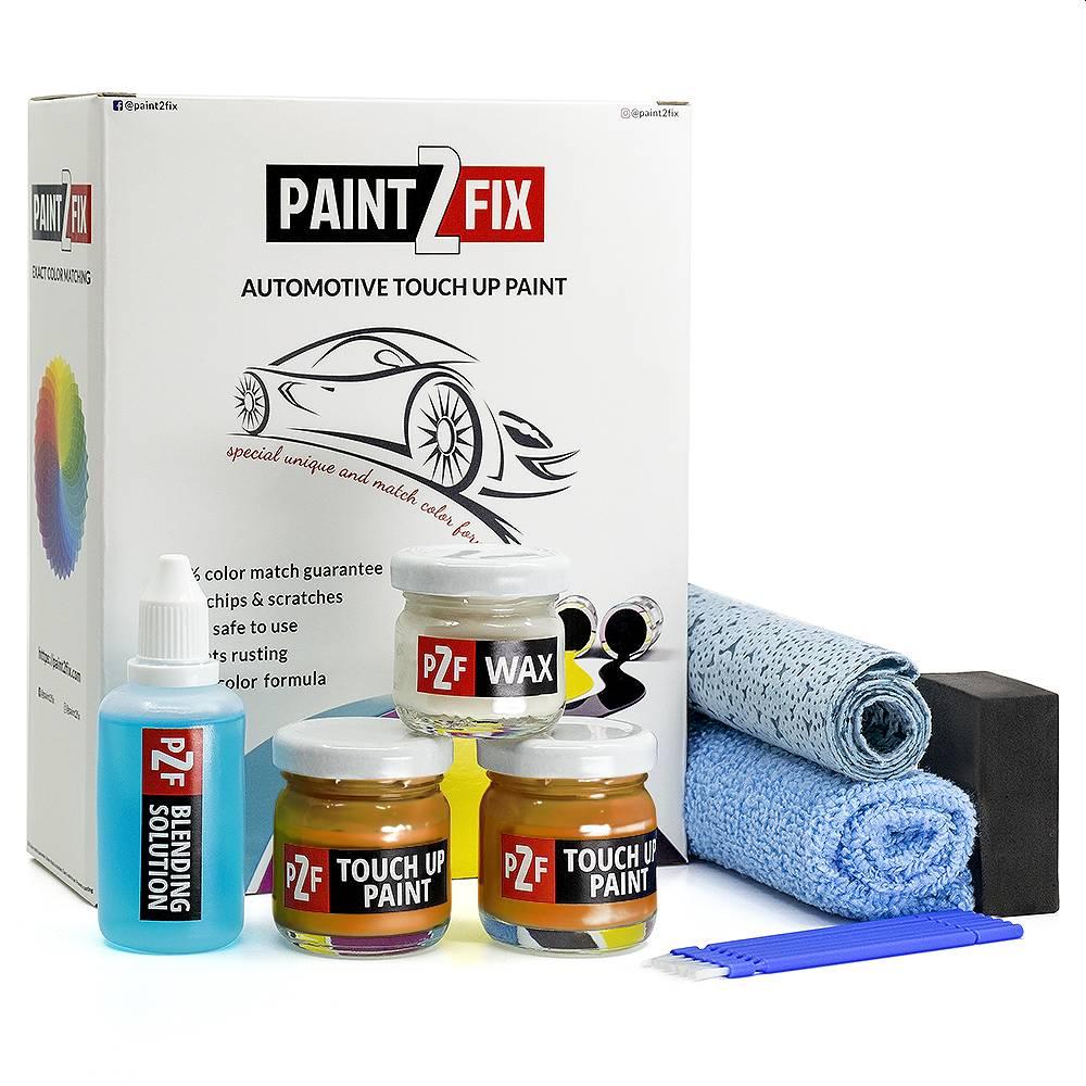 Peugeot Orange Fusion KLS Touch Up Paint / Scratch Repair / Stone Chip Repair Kit