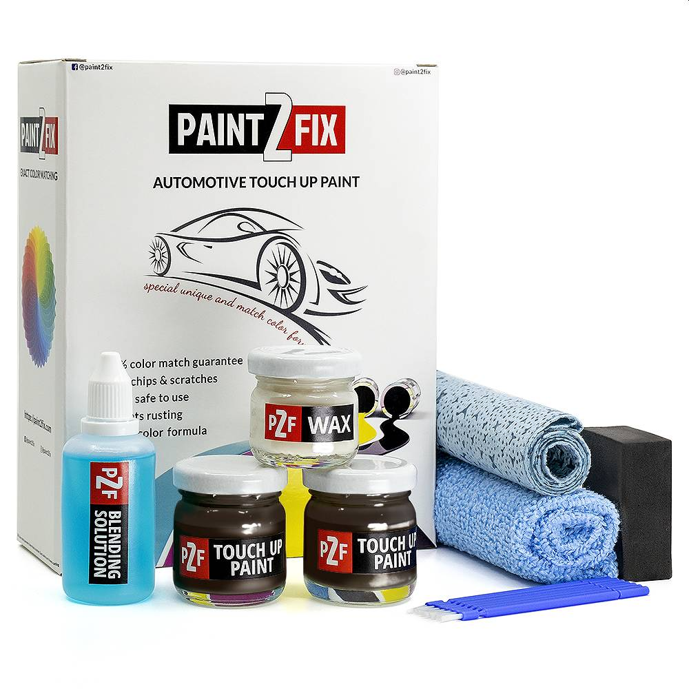 Porsche Basalt Black C9Z Touch Up Paint / Scratch Repair / Stone Chip Repair Kit