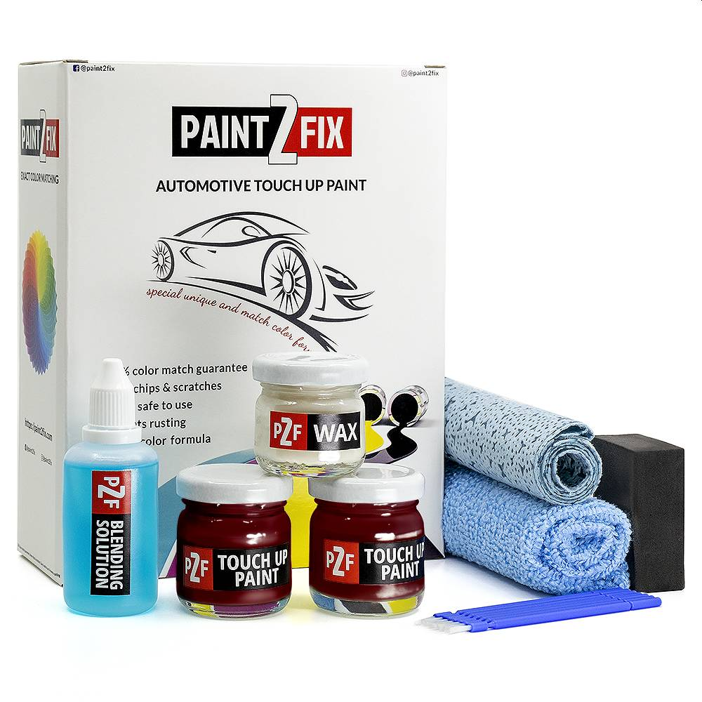 Smart Night Run Red EB6 Touch Up Paint / Scratch Repair / Stone Chip Repair Kit