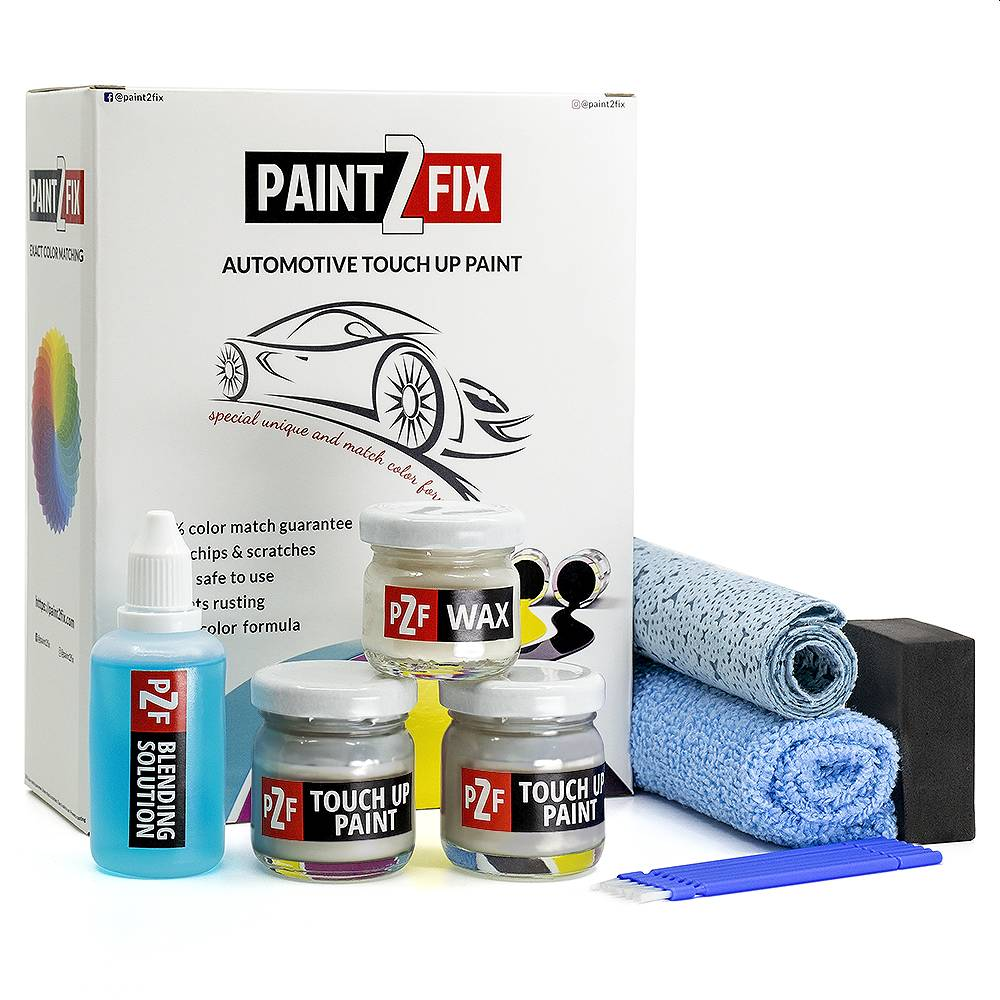Volvo Electric Silver 477 Touch Up Paint / Scratch Repair / Stone Chip Repair Kit